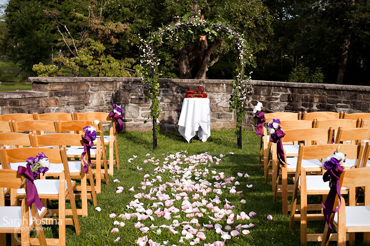 Blue Hill Stone Barns Outdoor Ceremony